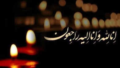 تصویر از پیام تسلیت پدر گرامی دانش آموز علیرضا درستکار
